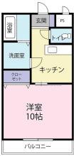 [賃貸物件]ブライト古川詳細情報-間取り